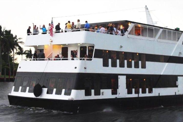 Ft. Lauderdale Yacht Rentals 130' Keith Marine Stern