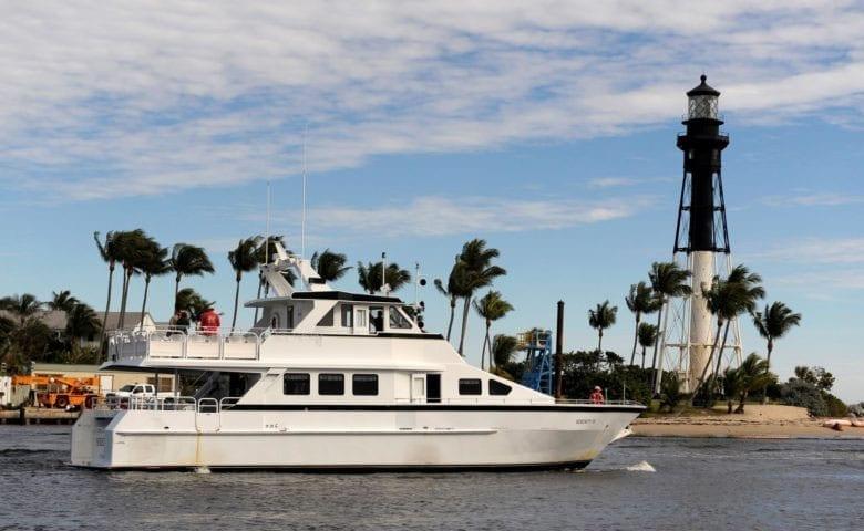 Ft. Lauderdale Yacht Rentals 72' Pelaez Profile