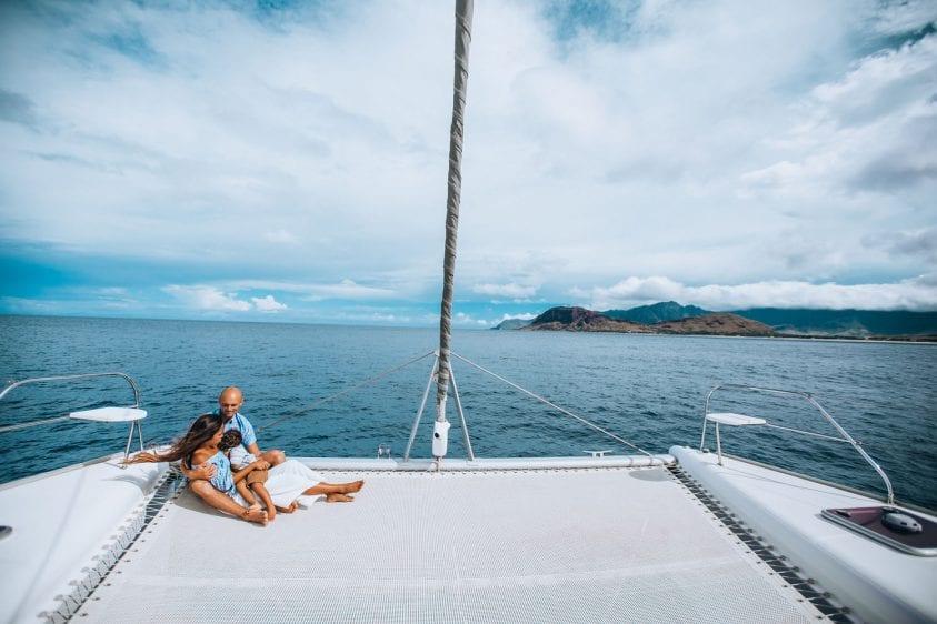 Hawaii Catamaran Yacht Rental for a day