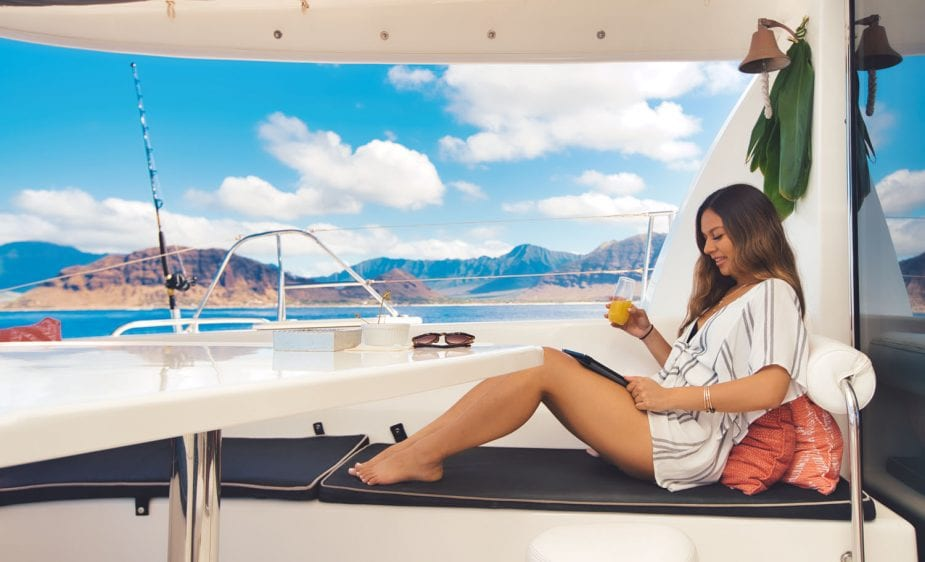 Hawaii Luxury Catamaran Rental in Oahu