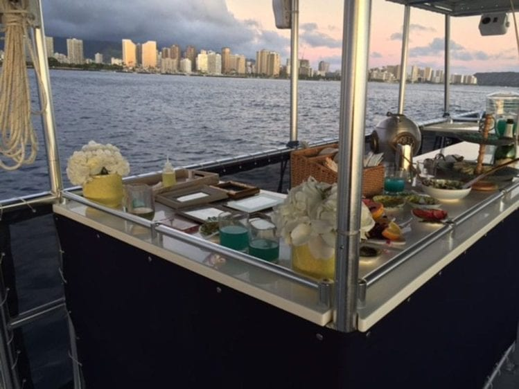 Hawaii Yacht Rentals 50' Corinthian Bar