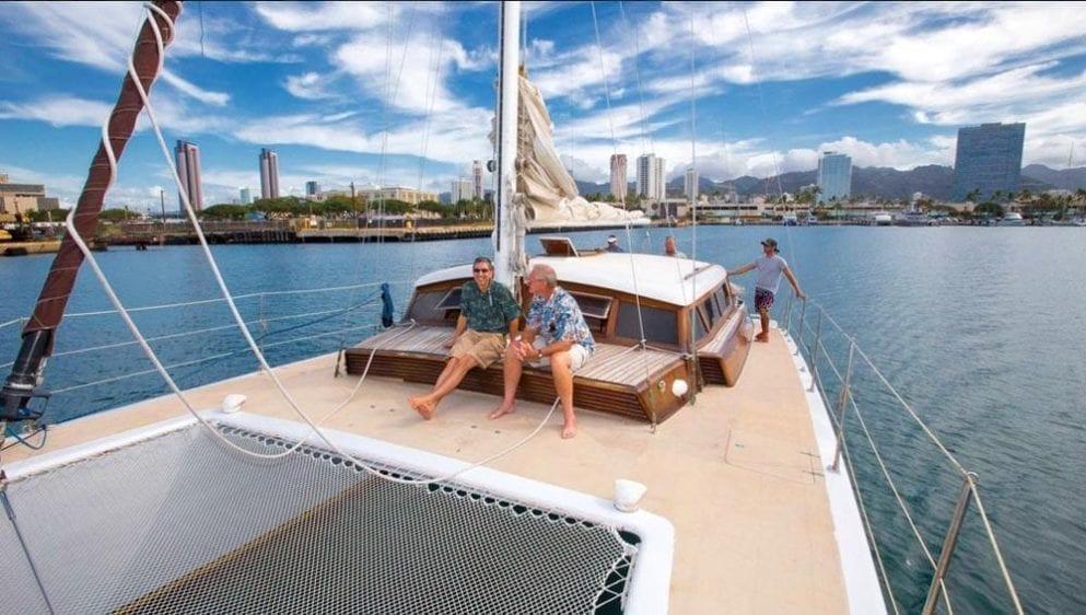 Hawaii Yacht Rentals 51' Royal Hawaiian