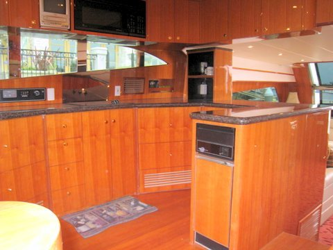LA Yacht Galley