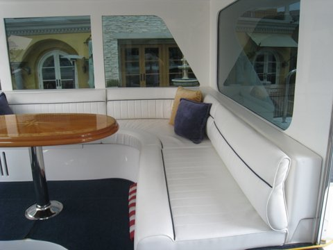 Los Angeles Yacht Aft Deck