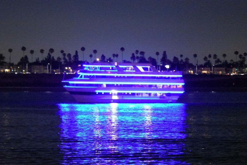 Long Beach Party Yacht Rental for 300 passengers