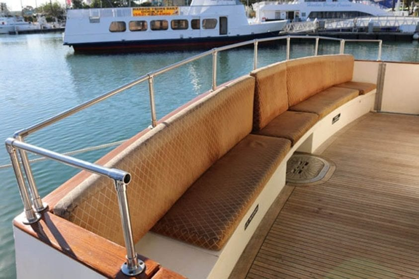 Long Beach Yacht Rentals 67' Westport Aft Bench