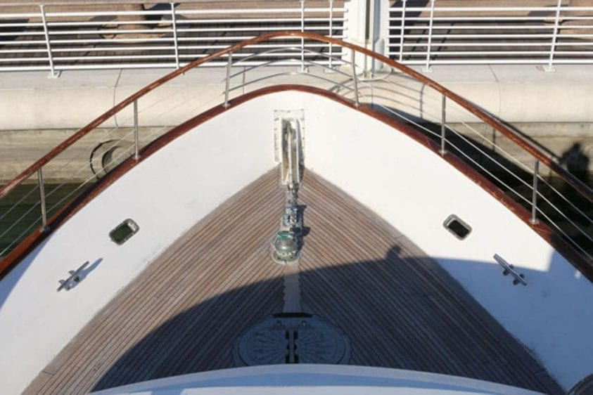 Long Beach Yacht Rentals 67' Westport Teak Bow