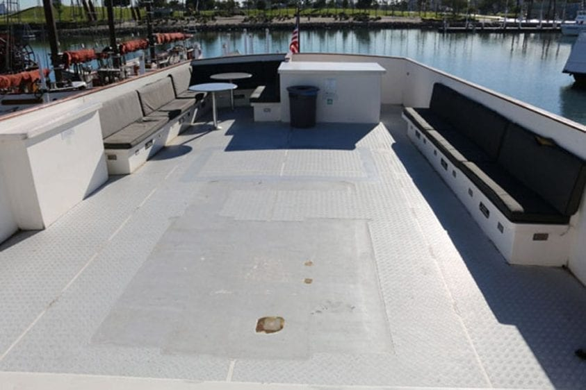 Long Beach Yacht Rentals 67' Westport Upper Deck 2