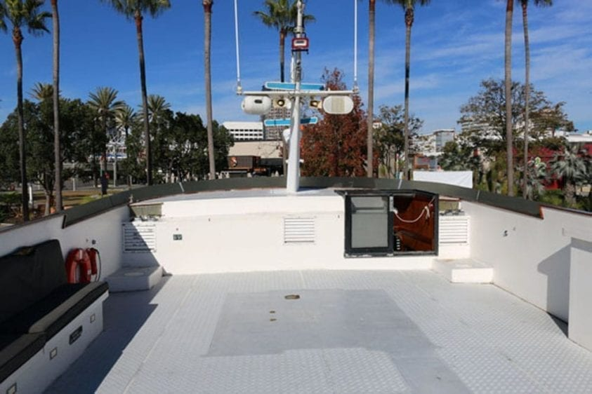 Long Beach Yacht Rentals 67' Westport Upper Deck
