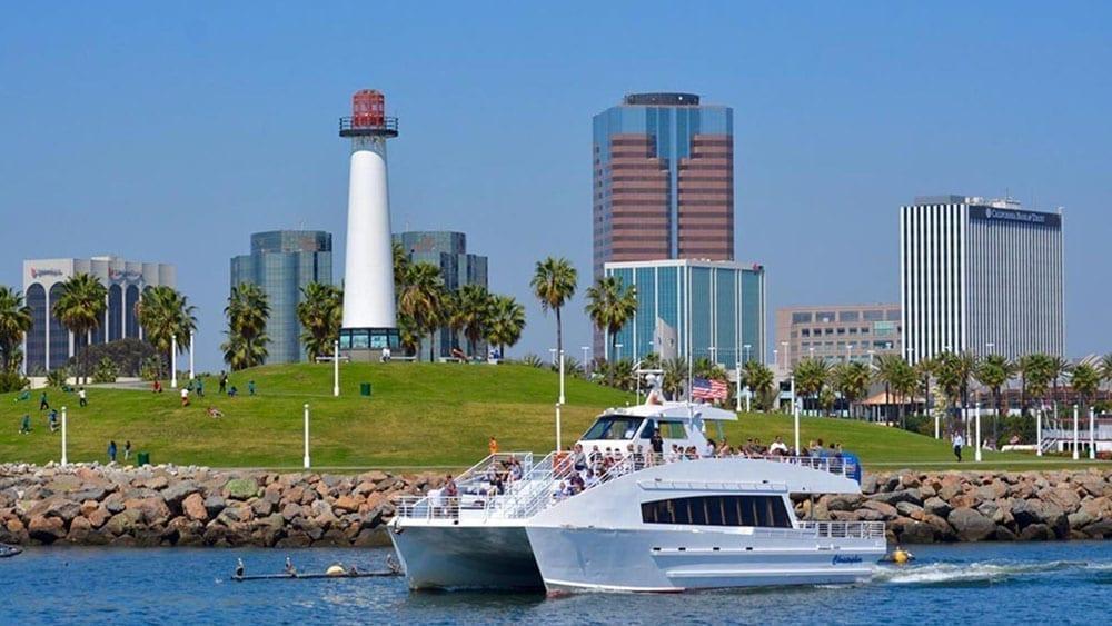 Long Beach rental yacht 75' Marine