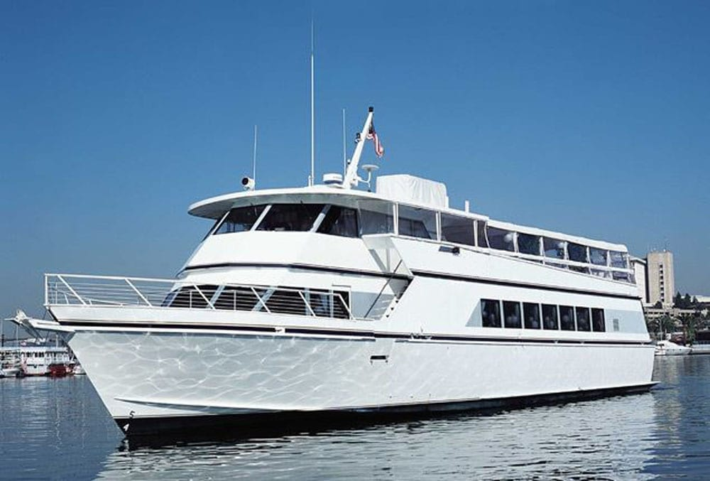 Marina del Rey party yacht charter 105' Breaux Profile