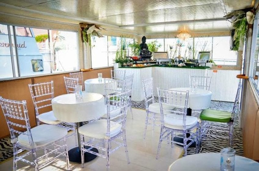 Los Angeles Yacht Rentals 57' LTD Tables