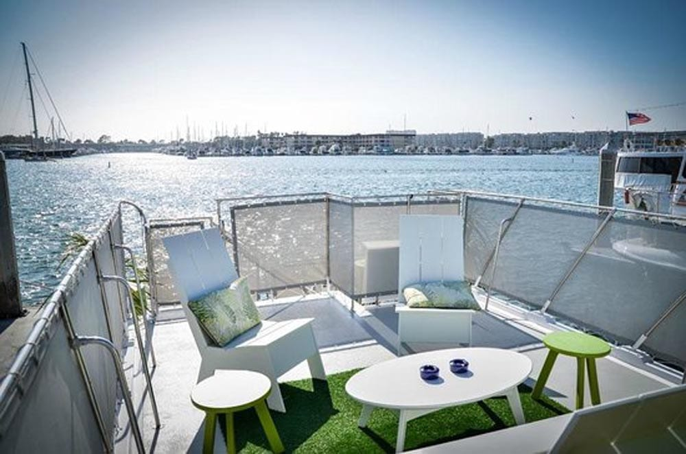 Marina del Rey party yacht rentals 57' LTD Upper Deck