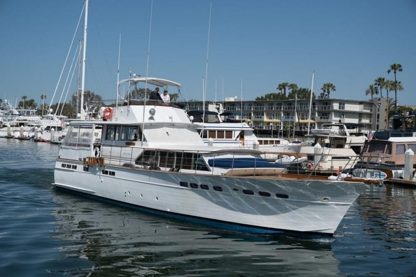 Los Angeles Yacht Rentals 65' Chris Craft Starboard