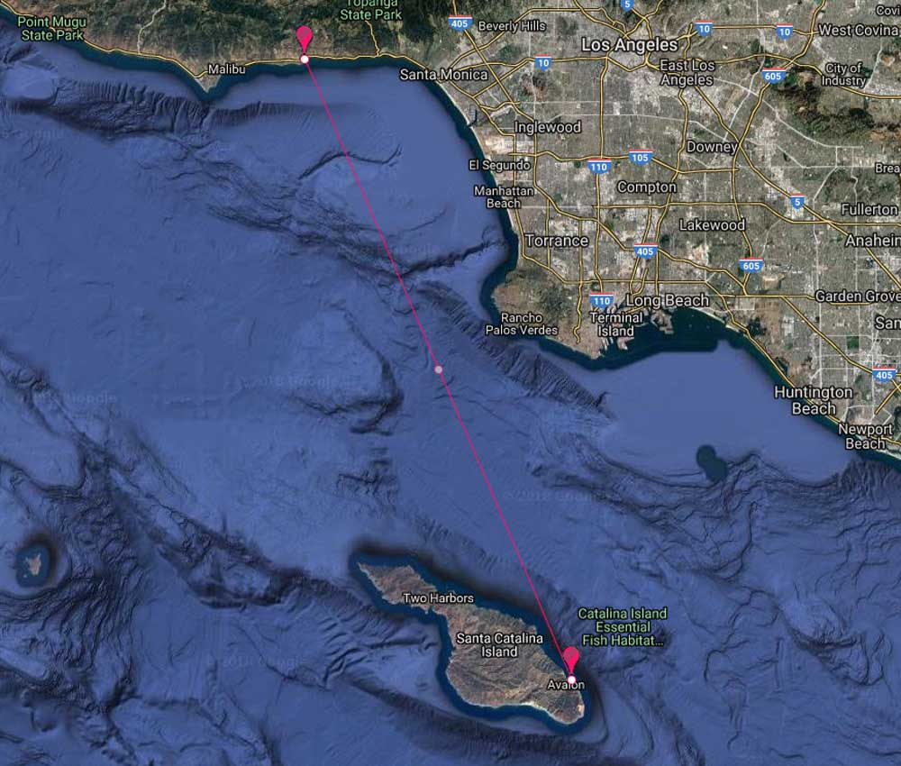 Malibu Yacht Rentals to Catalina, Avalon