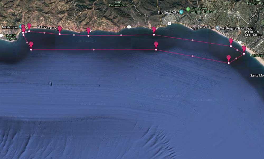 Malibu Yacht Rentals to Palisades