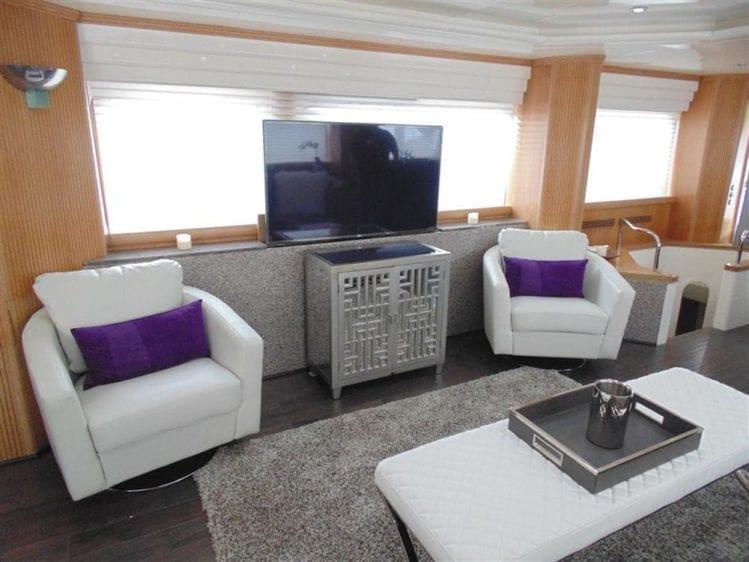 Marina Del Rey Yacht Rentals 100' Azimut TV