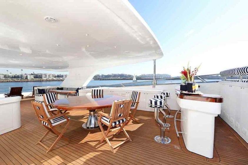Marina Del Rey Yacht Rentals 125ft Yacht 05