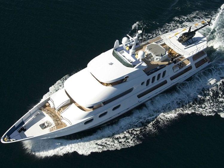 Marina Del Rey Yacht Rentals 145' Sun Coast Air Shot