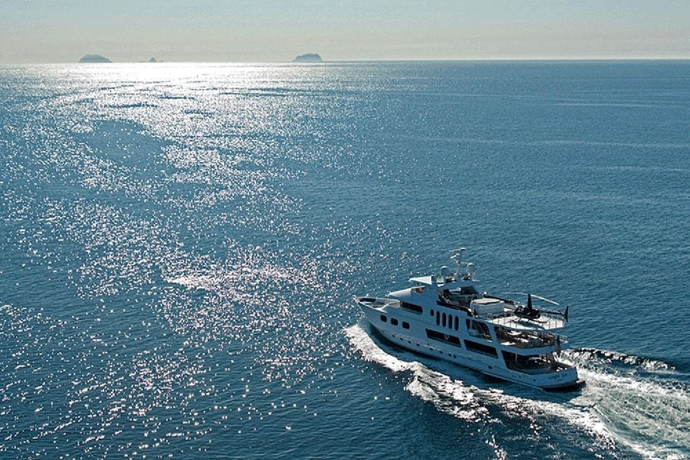 Luxury Yacht Charter 145' Sun Coast Coastal Cruise