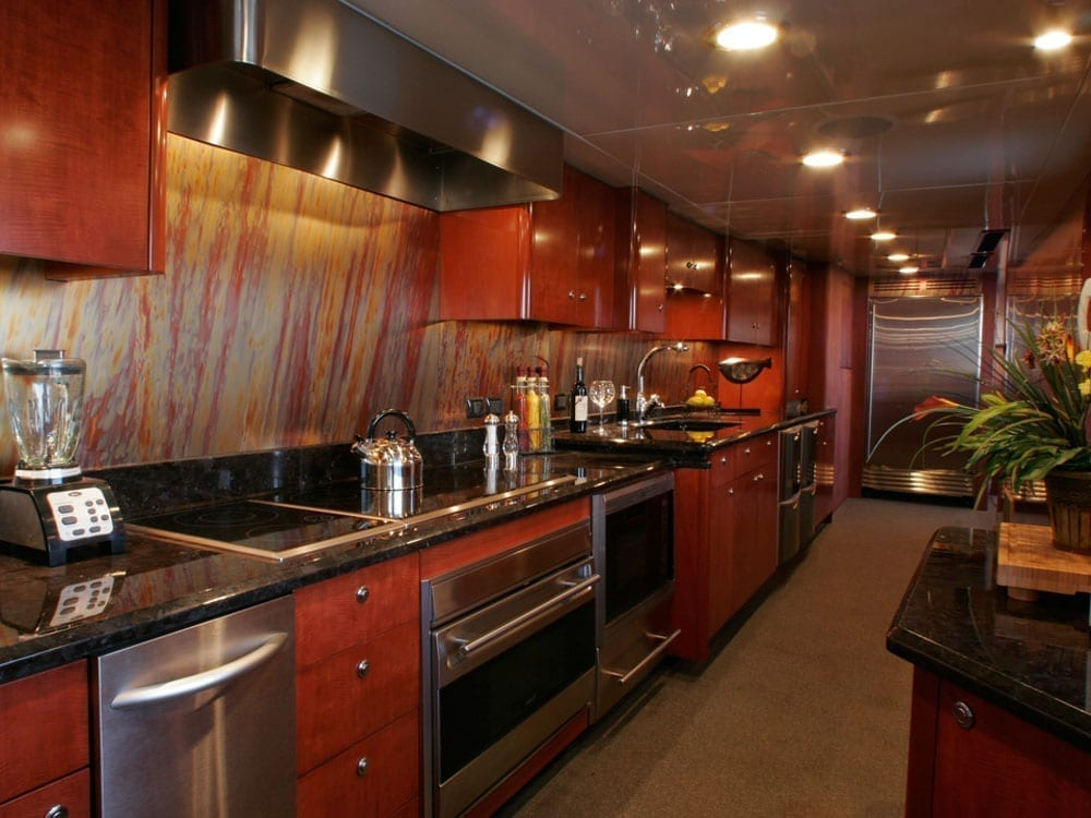 Luxury Yacht Charter 145' Sun Coast Galley