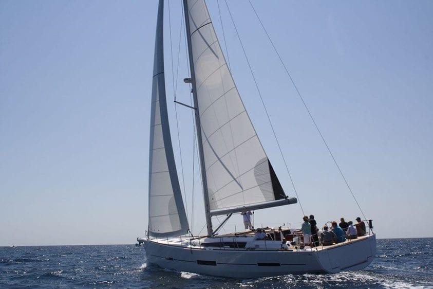 Marina Del Rey Yacht Rentals 56' Dufour Profile
