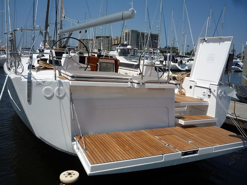 Luxury Sailboat 56' Dufour Transom Drop