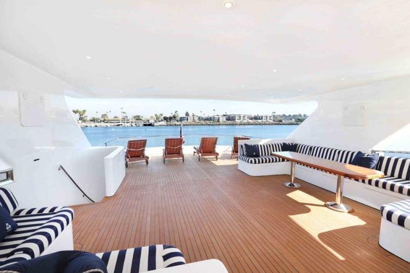 Marina del Rey Yacht Rentals 125 ft yacht 04