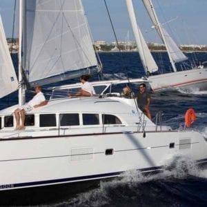 Marina del Rey Yacht Rentals 38' Lagoon 01