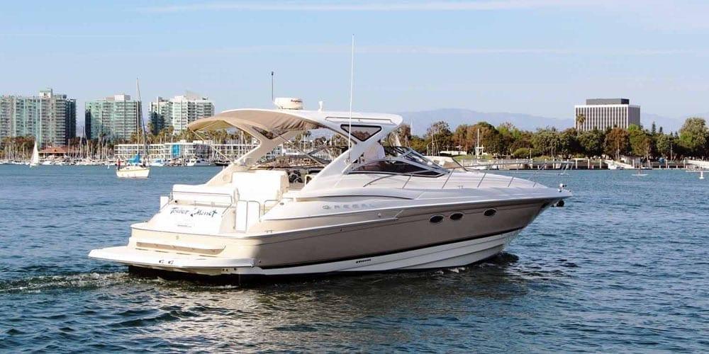 Marina del Rey Yacht Rentals 44' Regal Stern