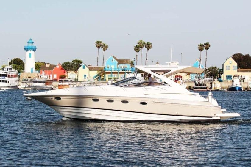 Marina del Rey Yacht Rentals 44' Regal Profile