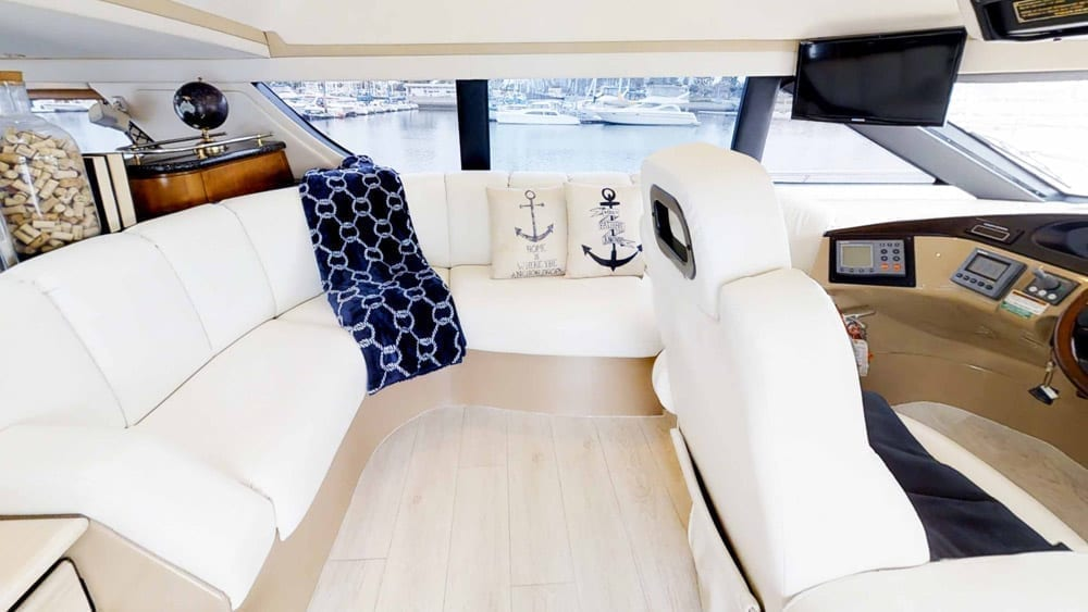 Marina del Rey Yacht Charters 53' Carver