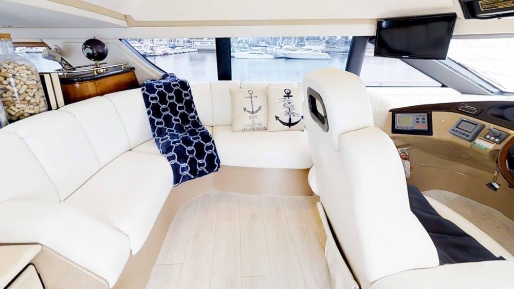 Marina del Rey Yacht Charters 53' Carver
