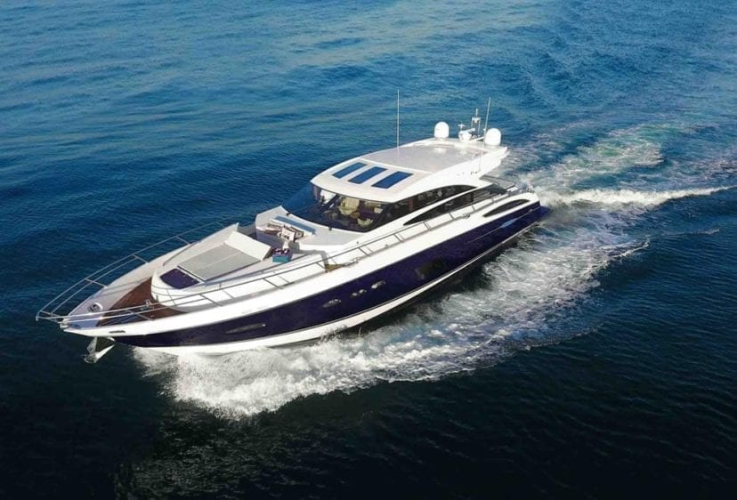 Marina del Rey Yacht Rentals 72' Princess