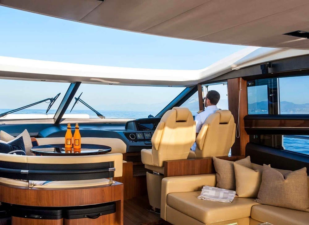 Private Yacht Charters 72' Princess Sunroof