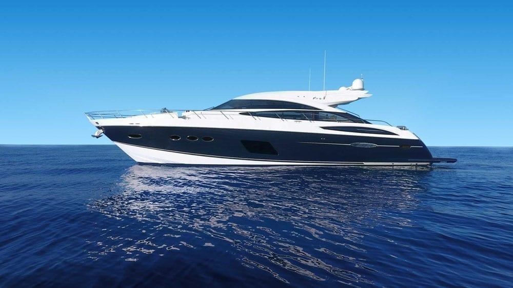 Marina del Rey Yacht Rentals 72' Princess Profile