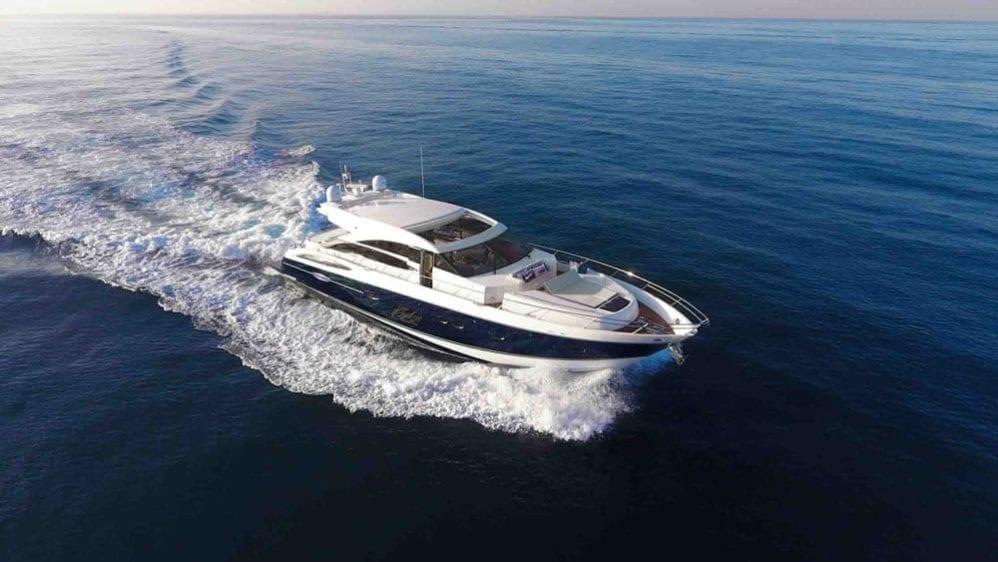 Marina del Rey Yacht Rentals 72' Princess Cruise