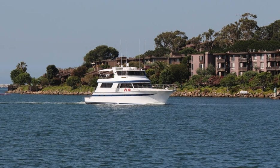 Marina del Rey Yacht Rentals 85' Pacifica Channel