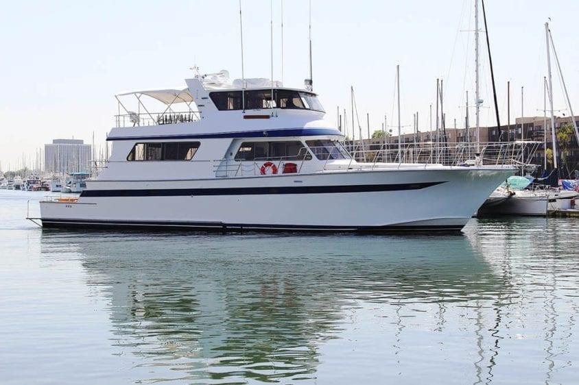 Marina del Rey Yacht Rentals 85' Pacifica Profile