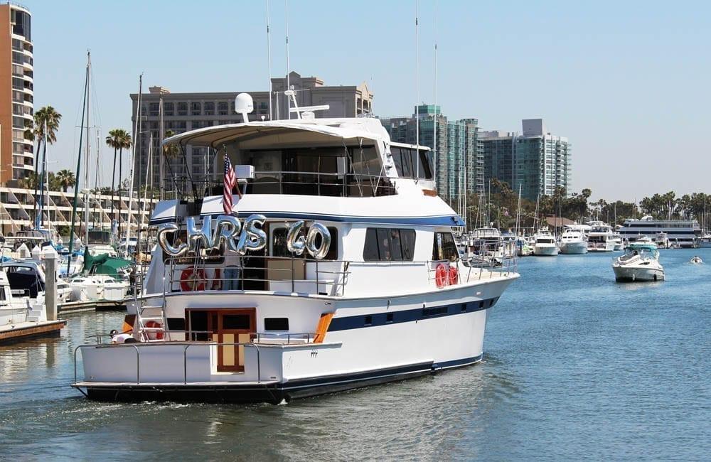 newport beach yacht charter 85' Pacifica