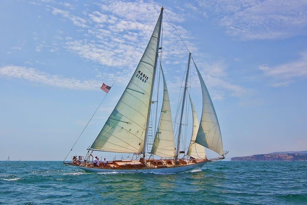 Marina del Rey Yacht Rentals 85' Schooner Sailing 2