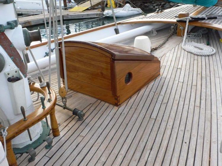 Marina del Rey Yacht Rentals 85' Schooner Teak Decks