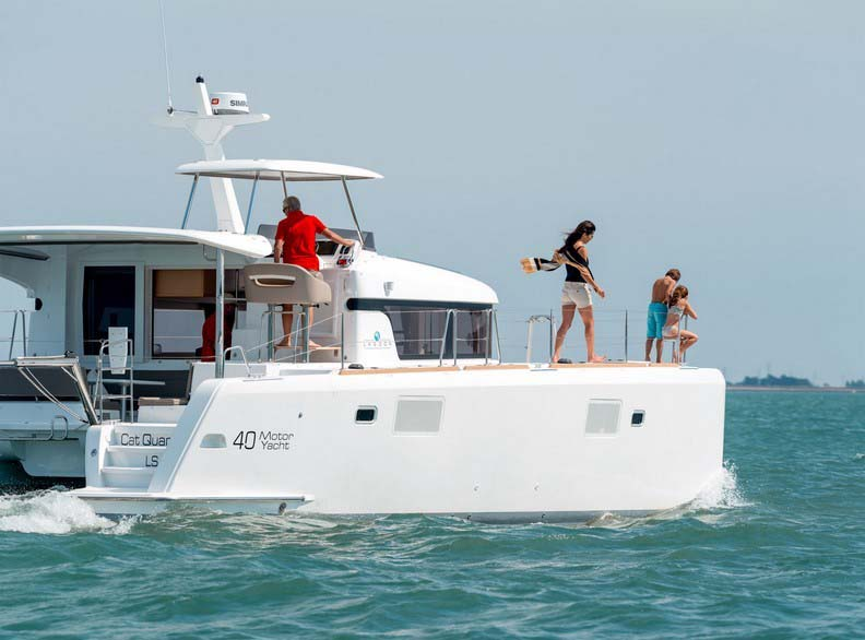 Marina del Rey Yacht Rentals Lagoon