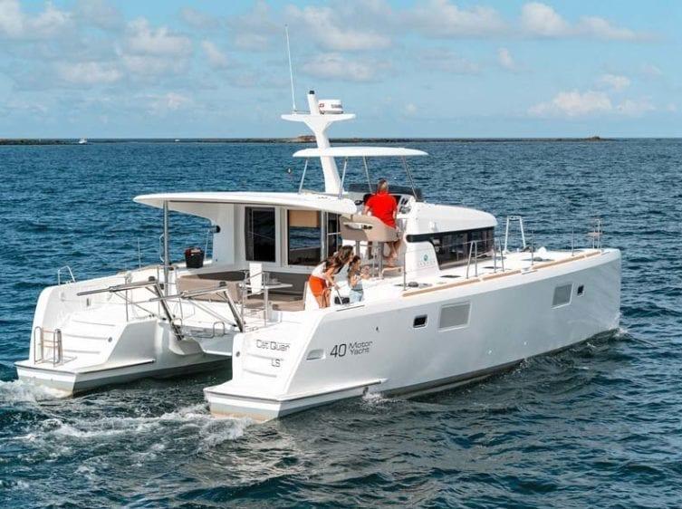 Marina del Rey Yacht Rentals Lagoon 18