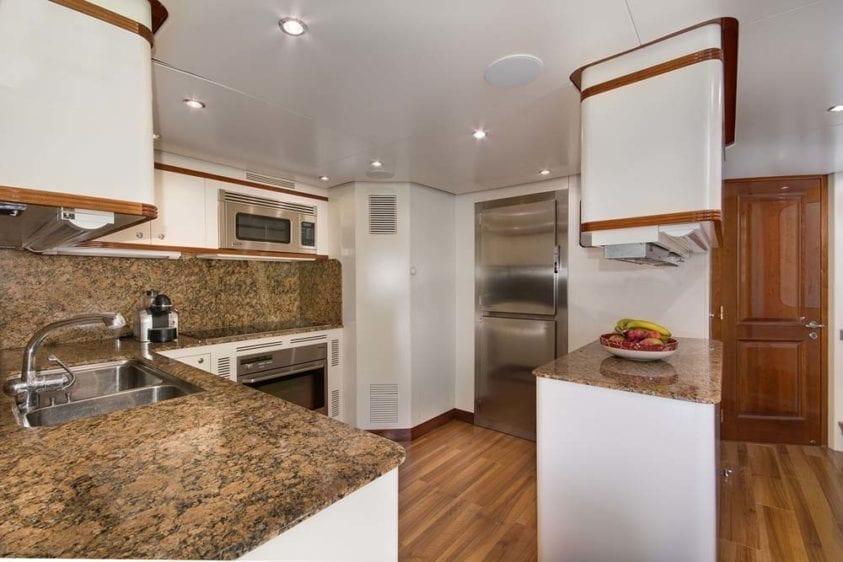 Miami Yacht Rental 116' Benetti Galley