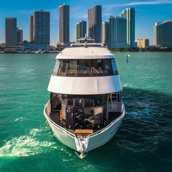 Miami Yacht Rentals 100' Skipperliner Ahead