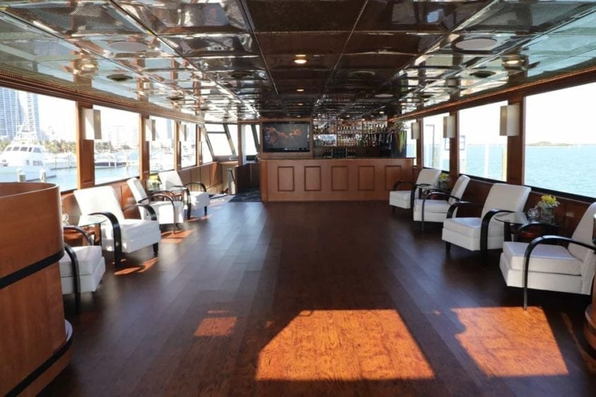 Miami Yacht Rentals 100' Skipperliner Bar
