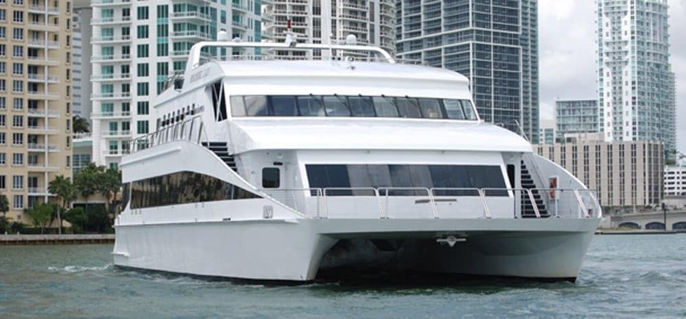Miami Yacht Rentals 111' Austal