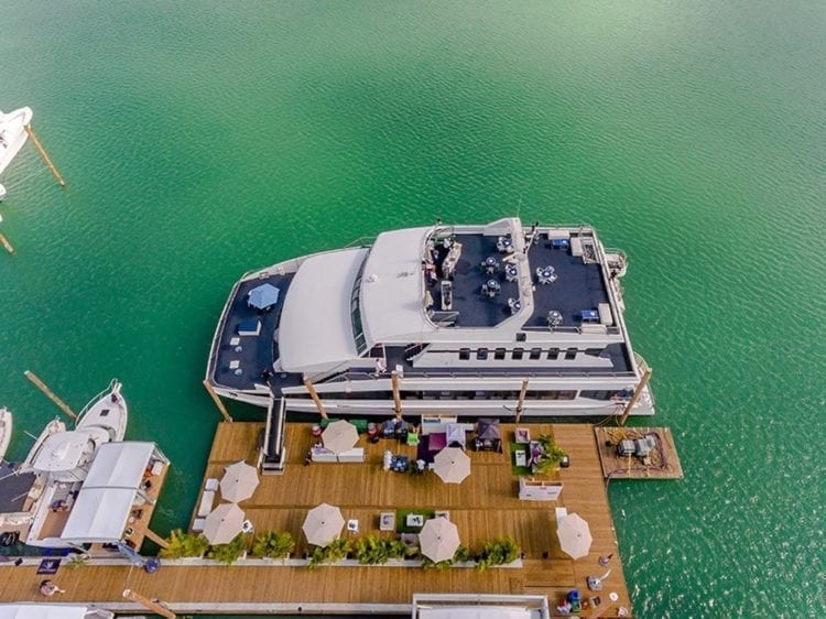 Miami Yacht Rentals 111' Austal Dockside