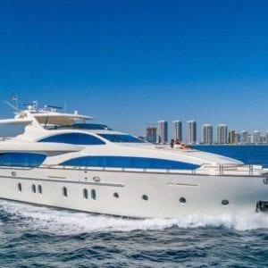 Miami Yacht Rentals 116' Azimut